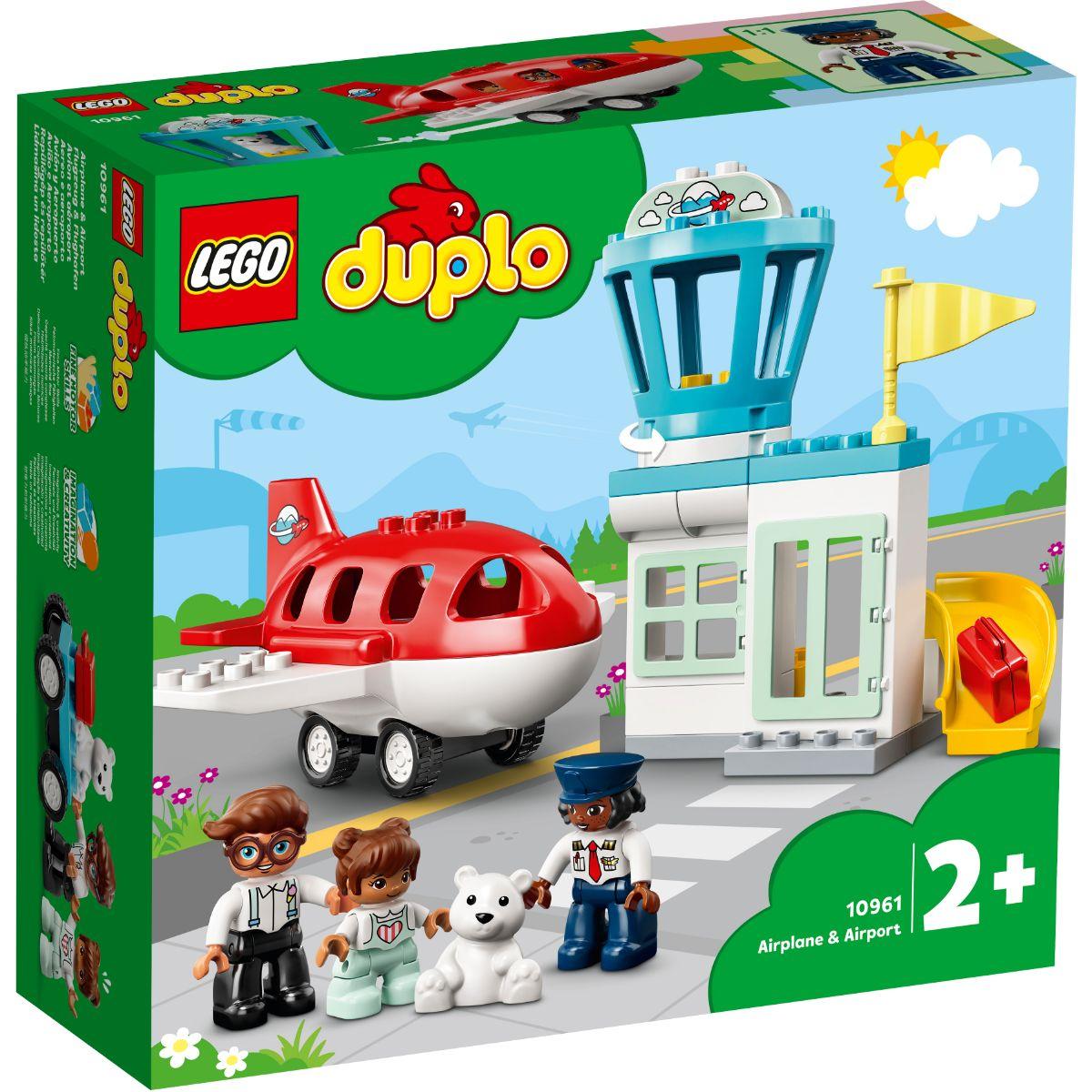 LEGO® Duplo - Avion si aeroport (10961)