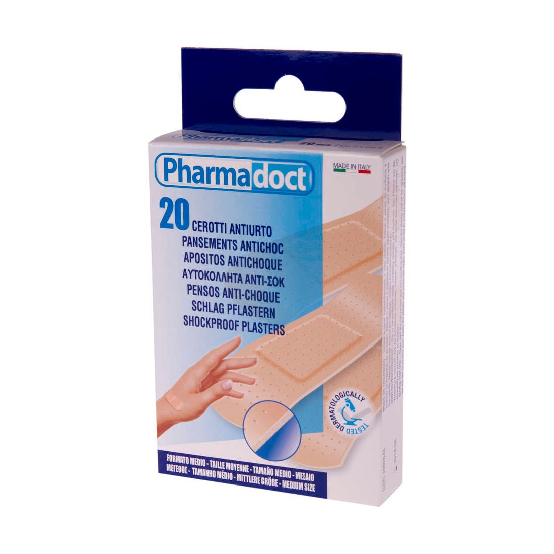 Plasture super-rezistent Pharmadoct, 20 buc