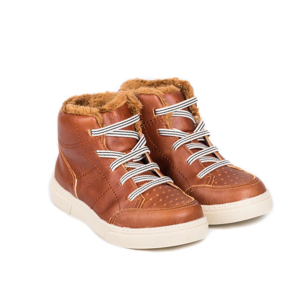Ghete cu blanita Bibi Shoes On Way Caramel