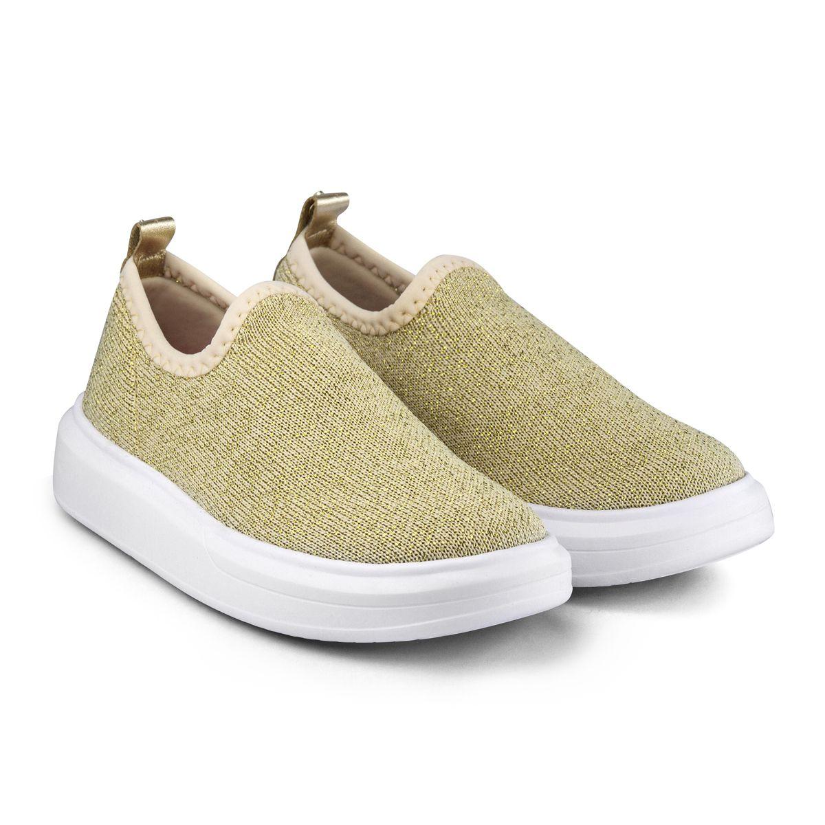 Pantofi sport Bibi Glam, Auriu