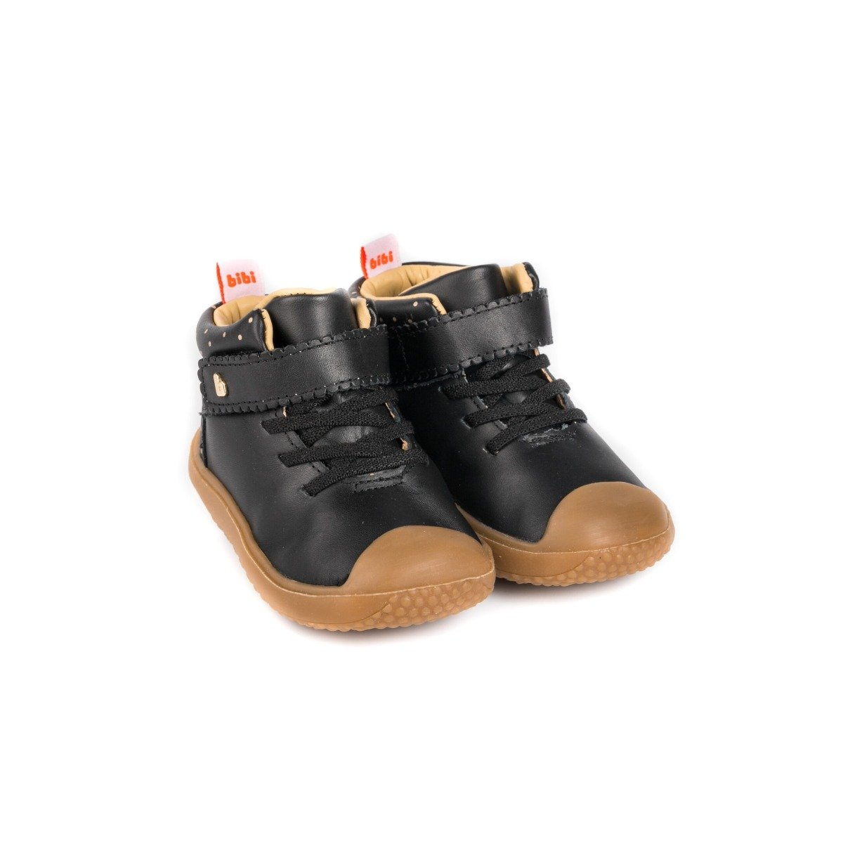 Ghete Bibi Shoes Prewalker, Negru