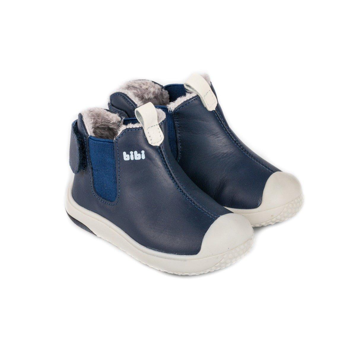Ghete cu blanita Bibi Shoes Prewalker Naval imagine