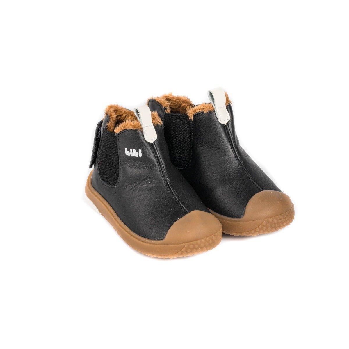 Ghete cu blanita Bibi Shoes Prewalker Black imagine