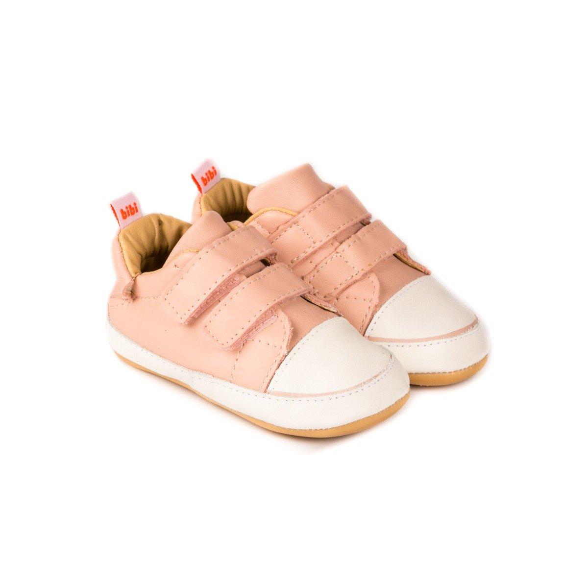 Pantofi Din Piele Bibi Shoes Afeto Joy Camelia, Roz