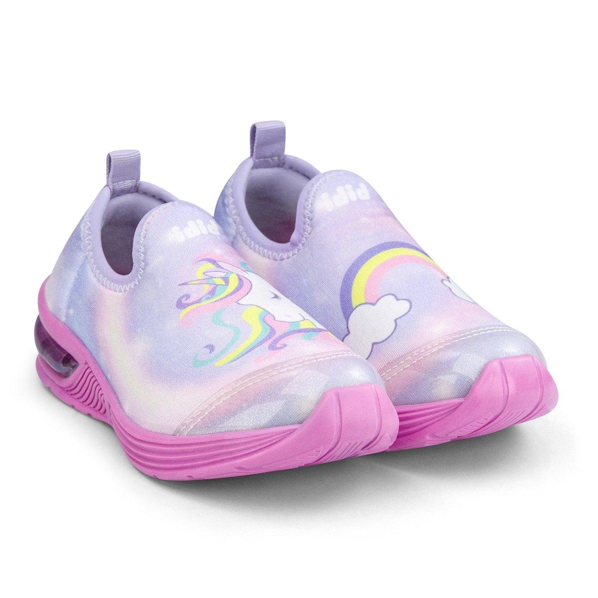 Pantofi sport Bibi Shoes Led Space Wave Unicorn