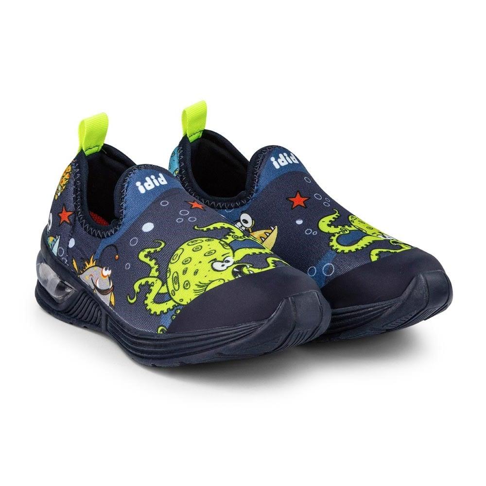 Pantofi cu Led Bibi Space Wave 2.0 Marine