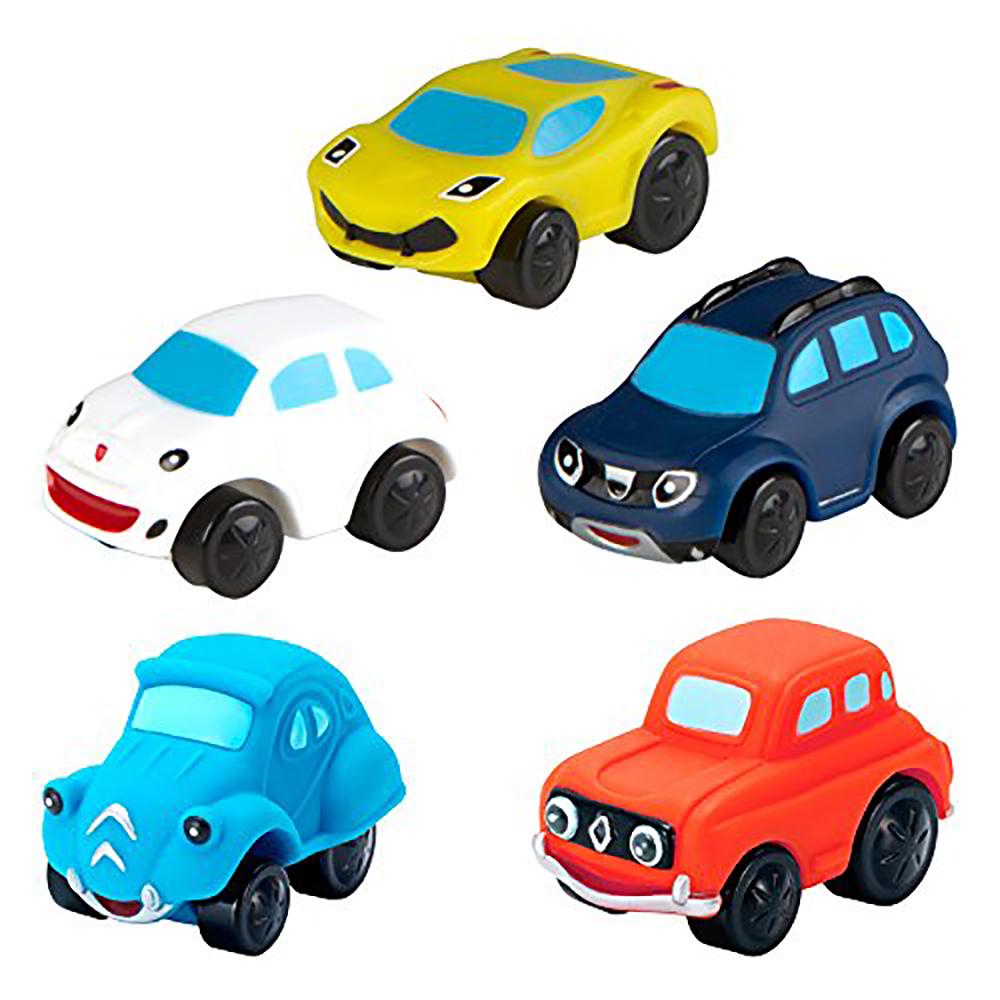 Set 5 masinute colorate Motor Town imagine