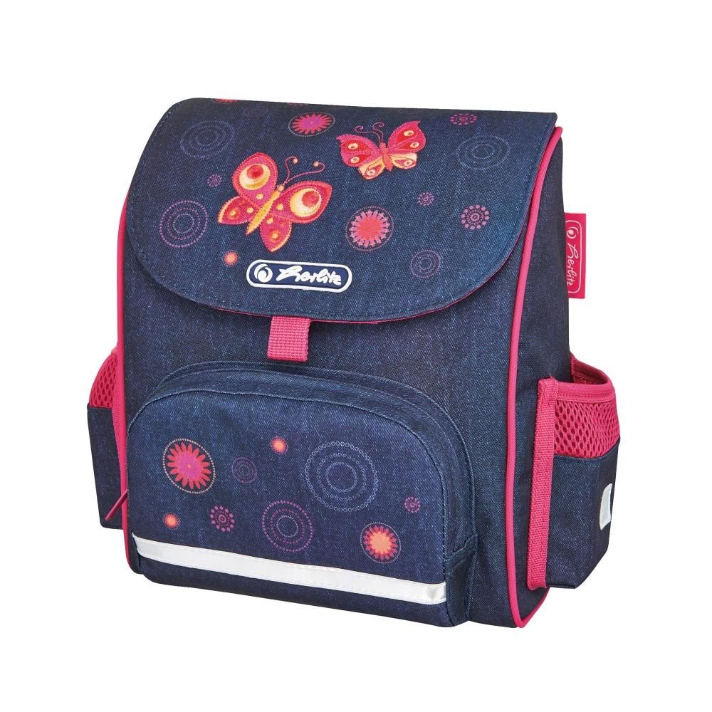 Ghiozdan neechipat Herlitz Mini Softbag, Butterfly imagine 2021