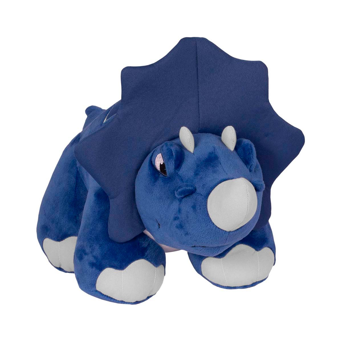 Jucarie de plus interactiva Thunder Stomper Slash Blue, 30 cm