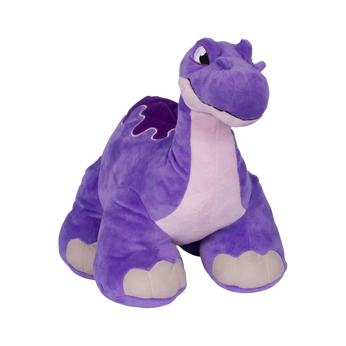 Jucarie de plus interactiva Thunder Stomper Slash Purple, 30 cm
