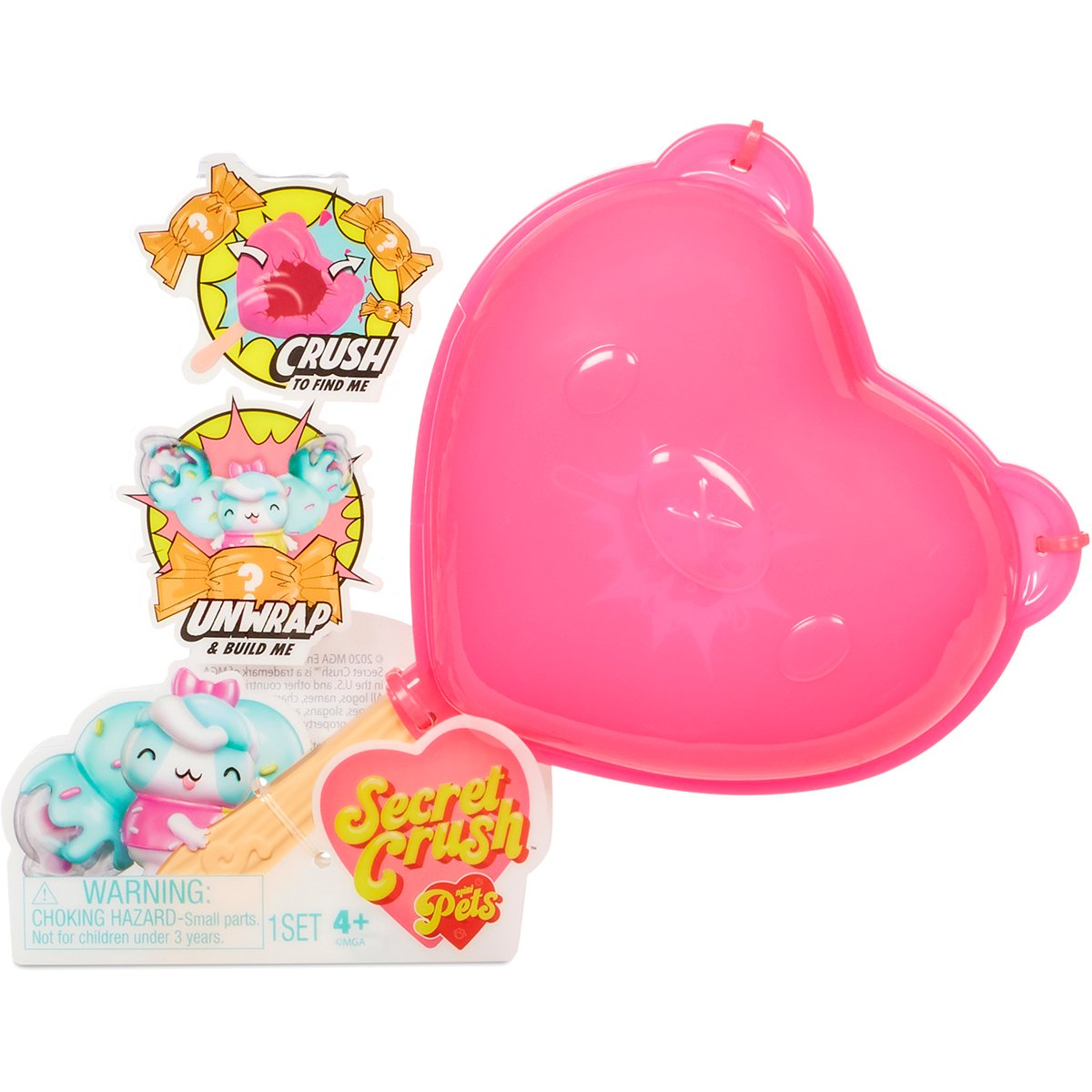 Secret Crush Mini Pets S1, figurine surpriza
