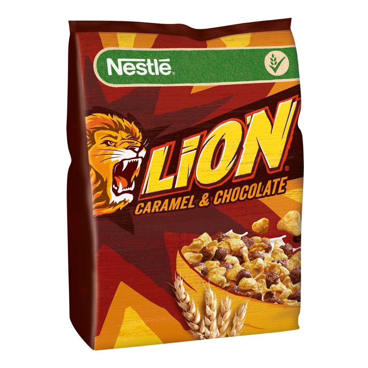 Cereale pentru mic dejun Nestle Lion, 500 g imagine