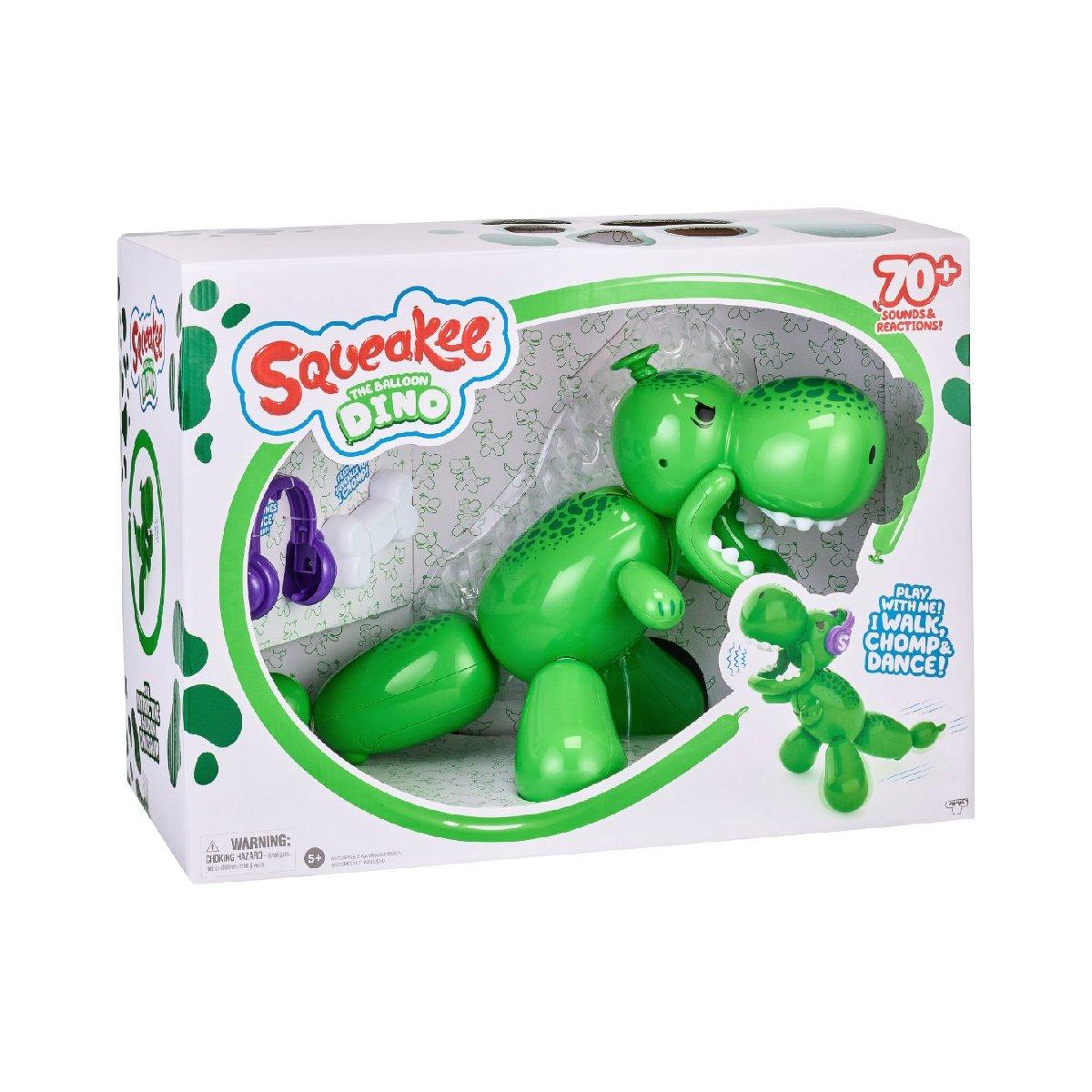 Dinozaurul din baloane, Squeakee, interactiv