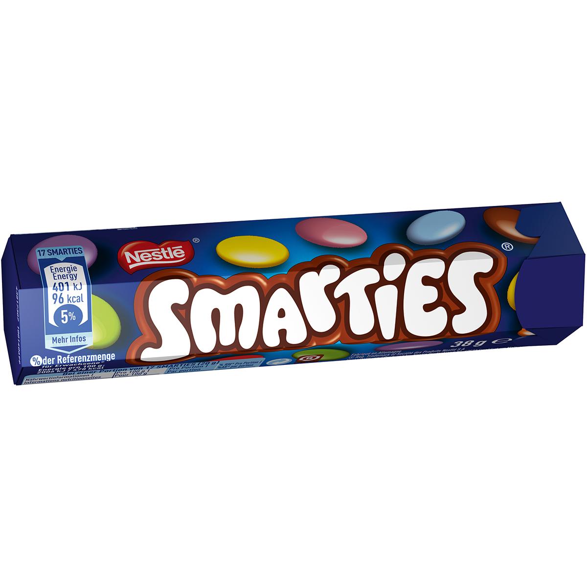 Bomboane de ciocolata cu lapte Smarties, 38 g