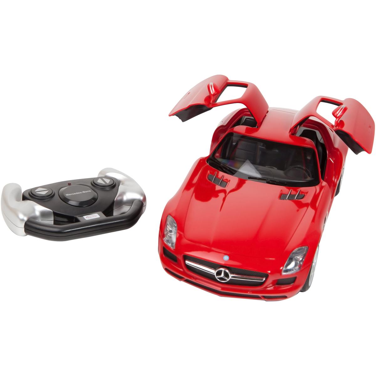 Masina cu telecomanda Rastar Mercedes Benz SLS AMG 1:14, Rosu