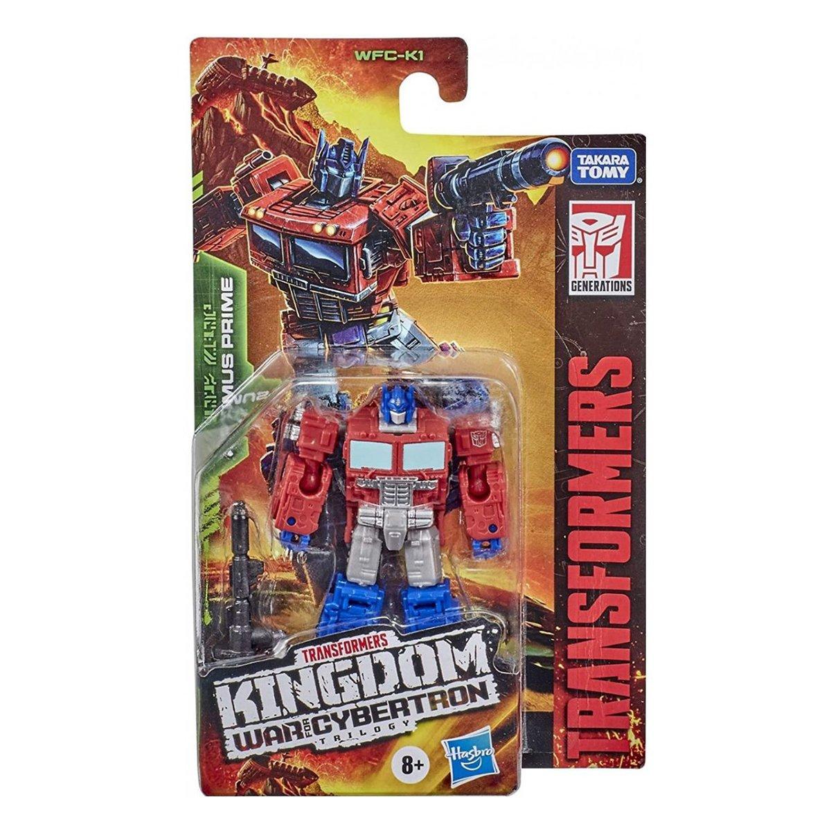 Figurina Transformers Kingdom WFC, Optimus Prime F0662