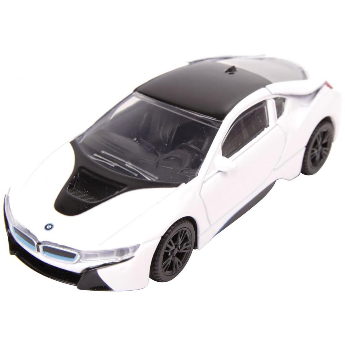 Masinuta Rastar BMW I8, Alb, 1:43