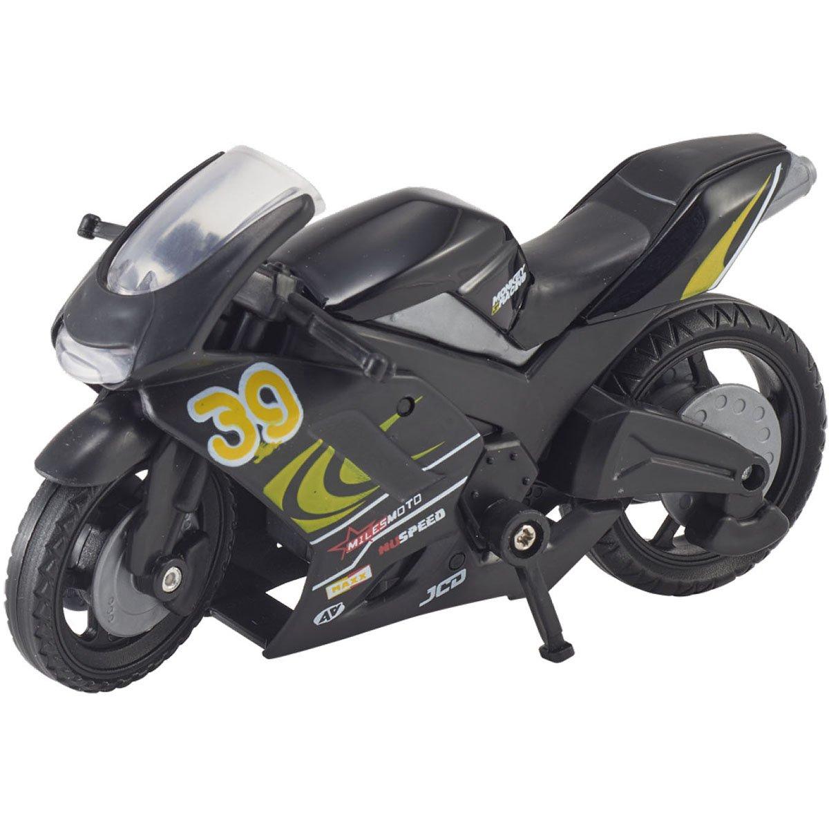 Motocicleta Teamsterz Speed Bike, Negru