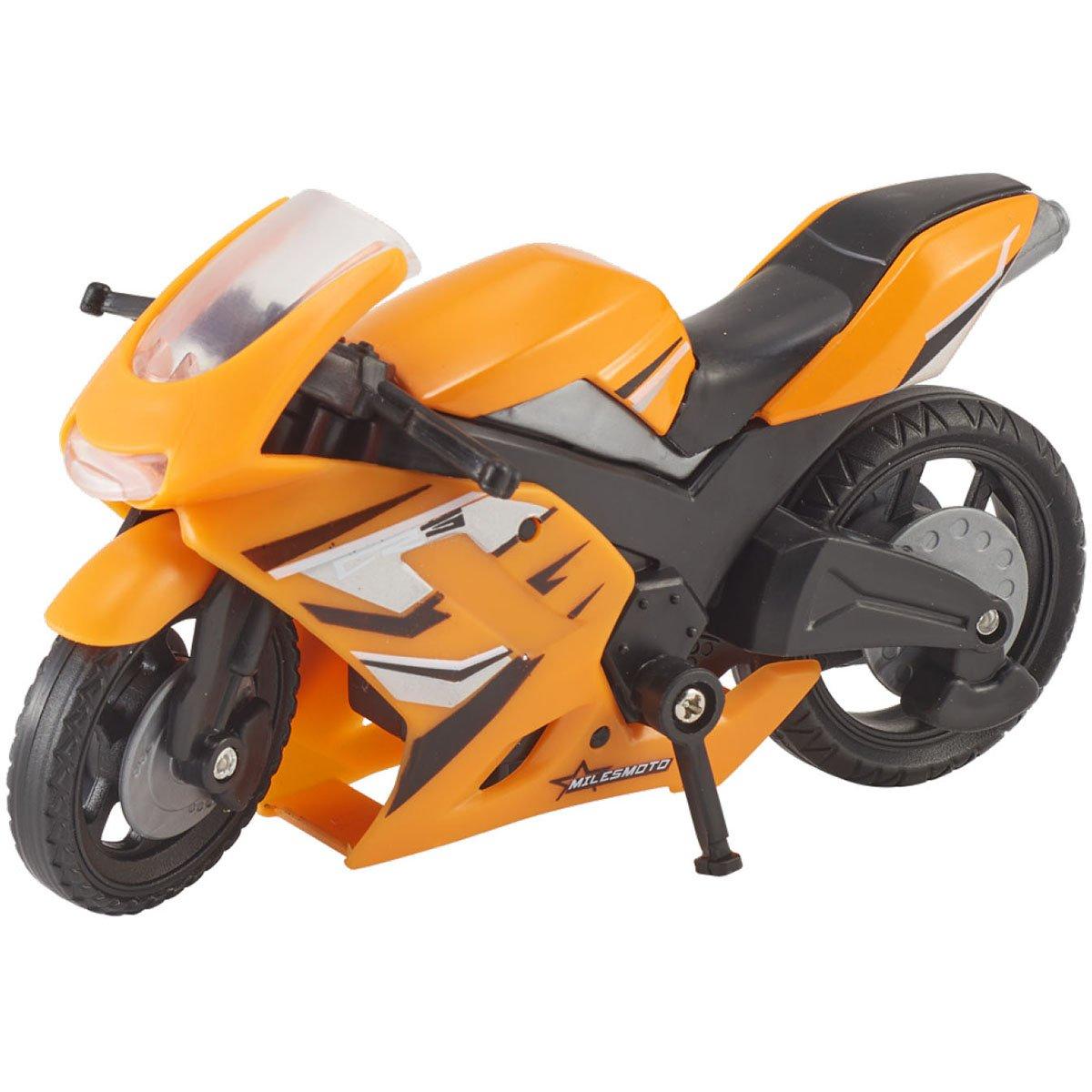 Motocicleta Teamsterz Speed Bike, Portocaliu imagine