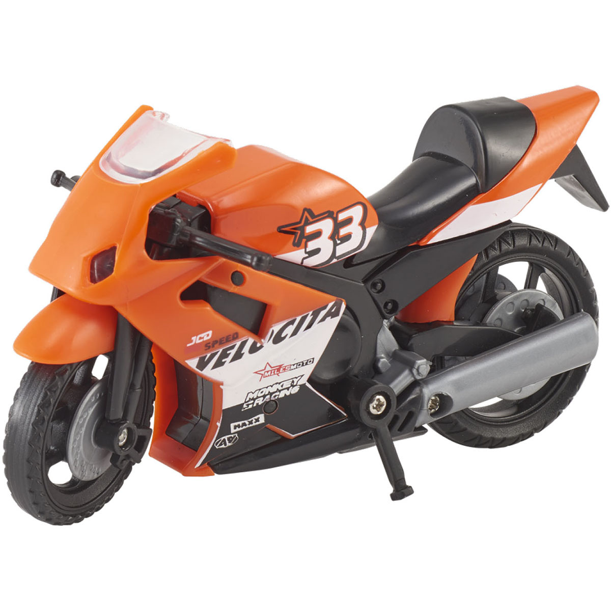 Motocicleta Teamsterz Speed Bike, Rosu