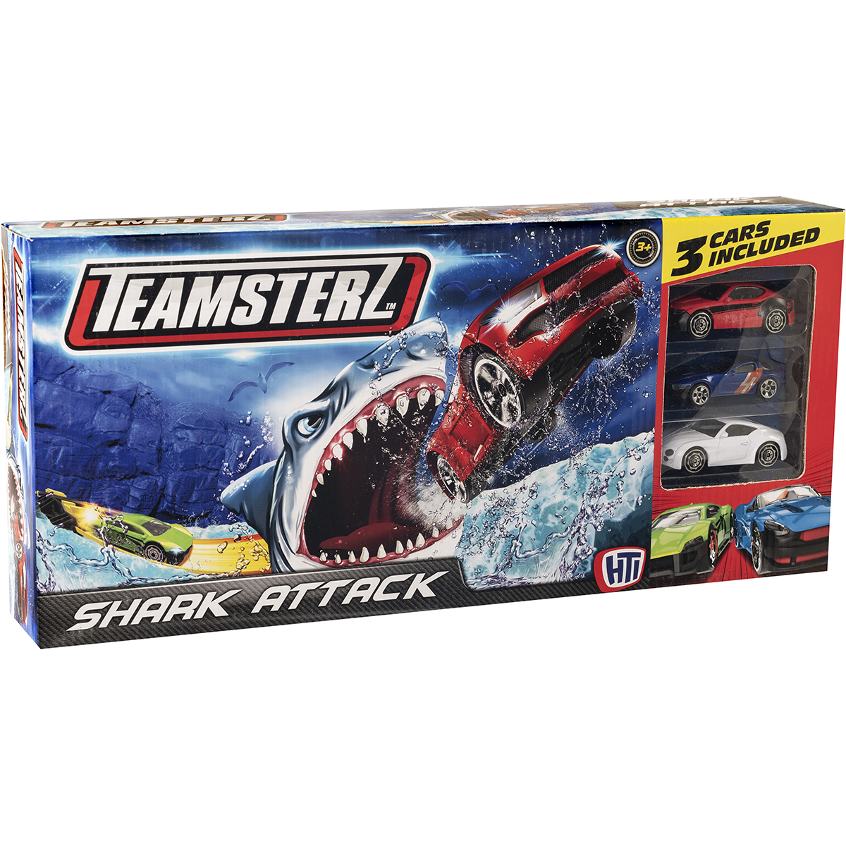Set lansator de masinute Teamsterz, Shark Attack