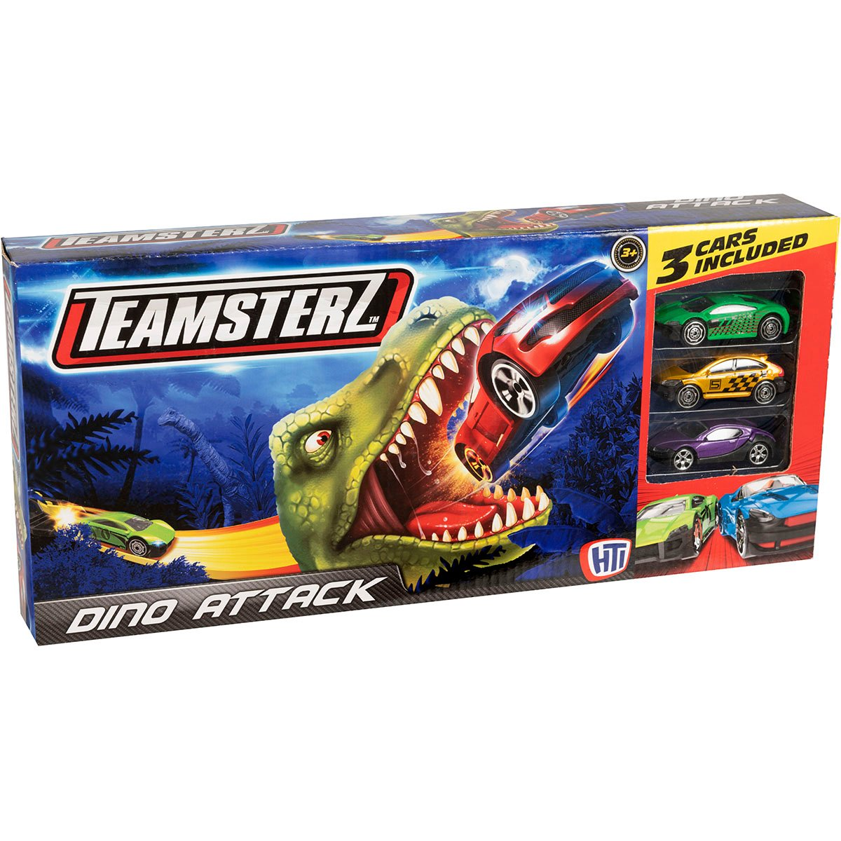 Set lansator de masinute Teamsterz, Dino Attack