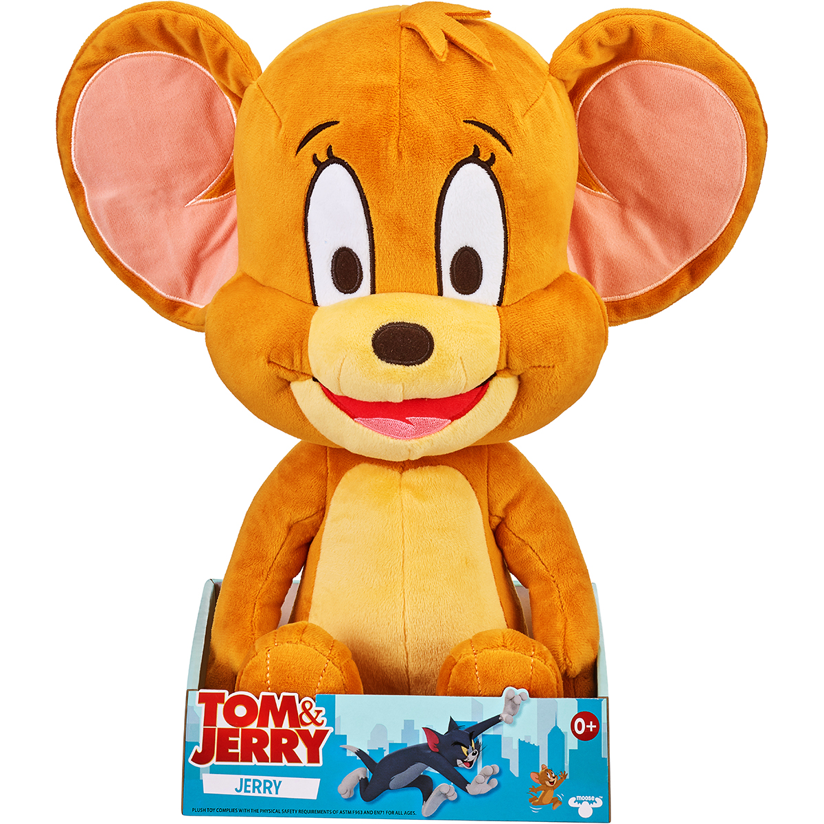 Jucarie de plus Tom and Jerry, Jerry, 35 cm