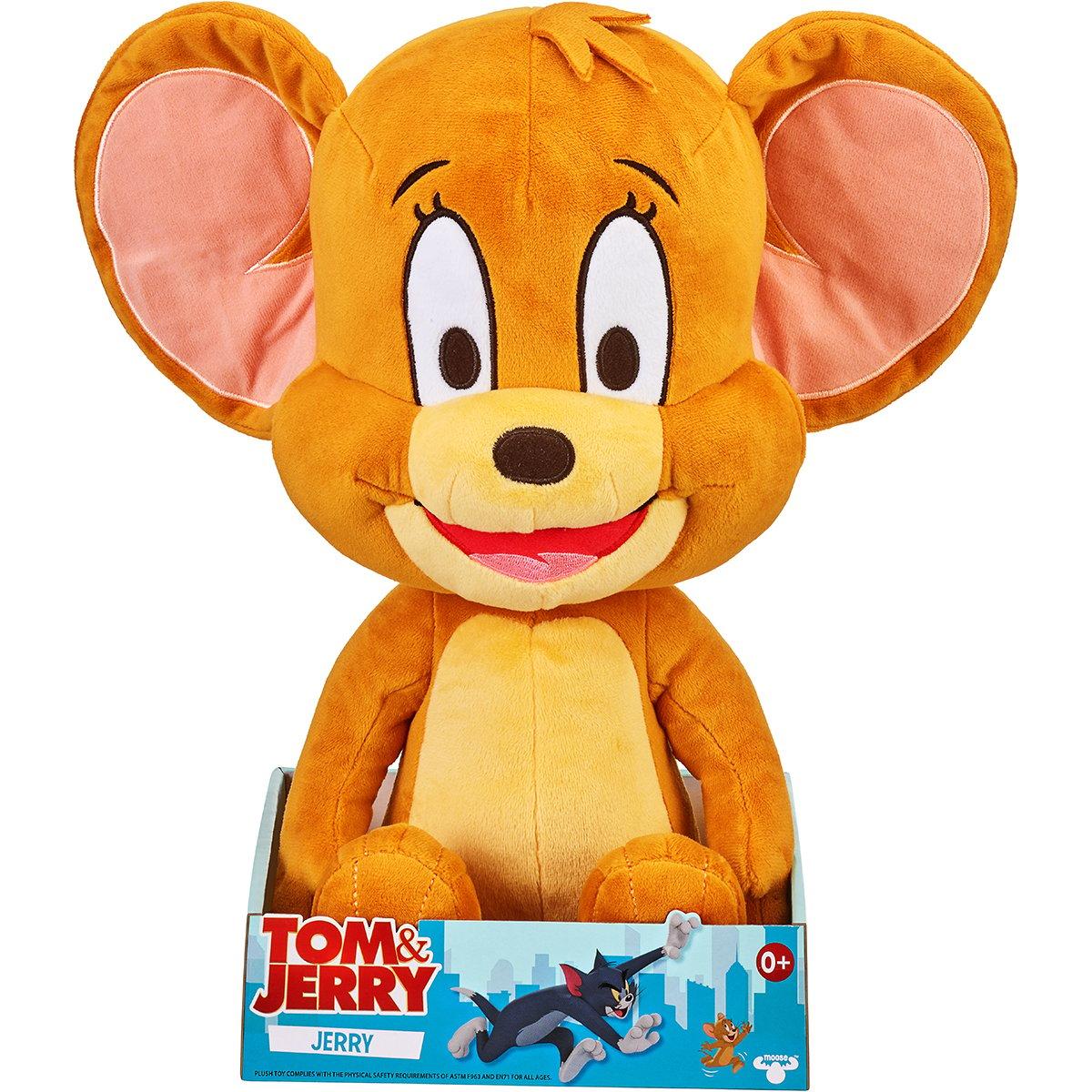 Jucarie de plus Tom and Jerry, Jerry, 35 cm