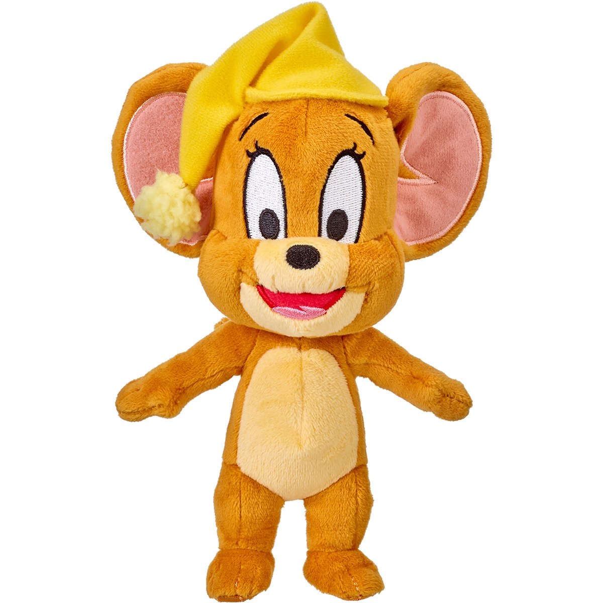 Jucarie de plus Tom and Jerry, Jerry Bed Time, 20 cm