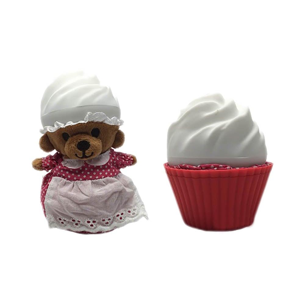 ursulet briosa cupcake - straw beary cream