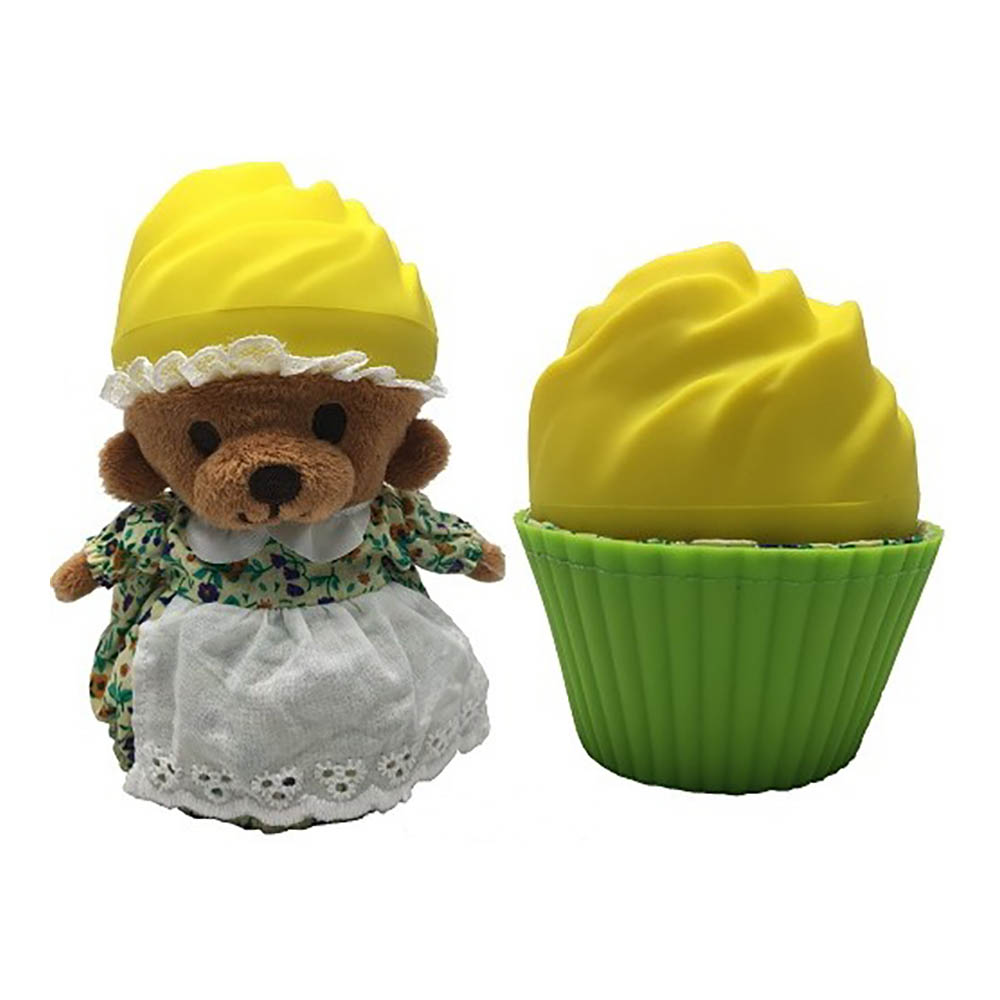 ursulet briosa cupcake - lemon chiffon