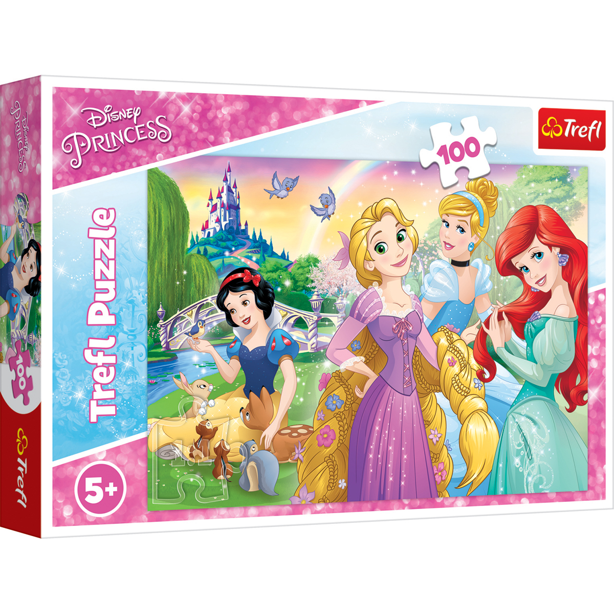 Puzzle Trefl 100 piese, Visul de a fi printesa, Disney Princess