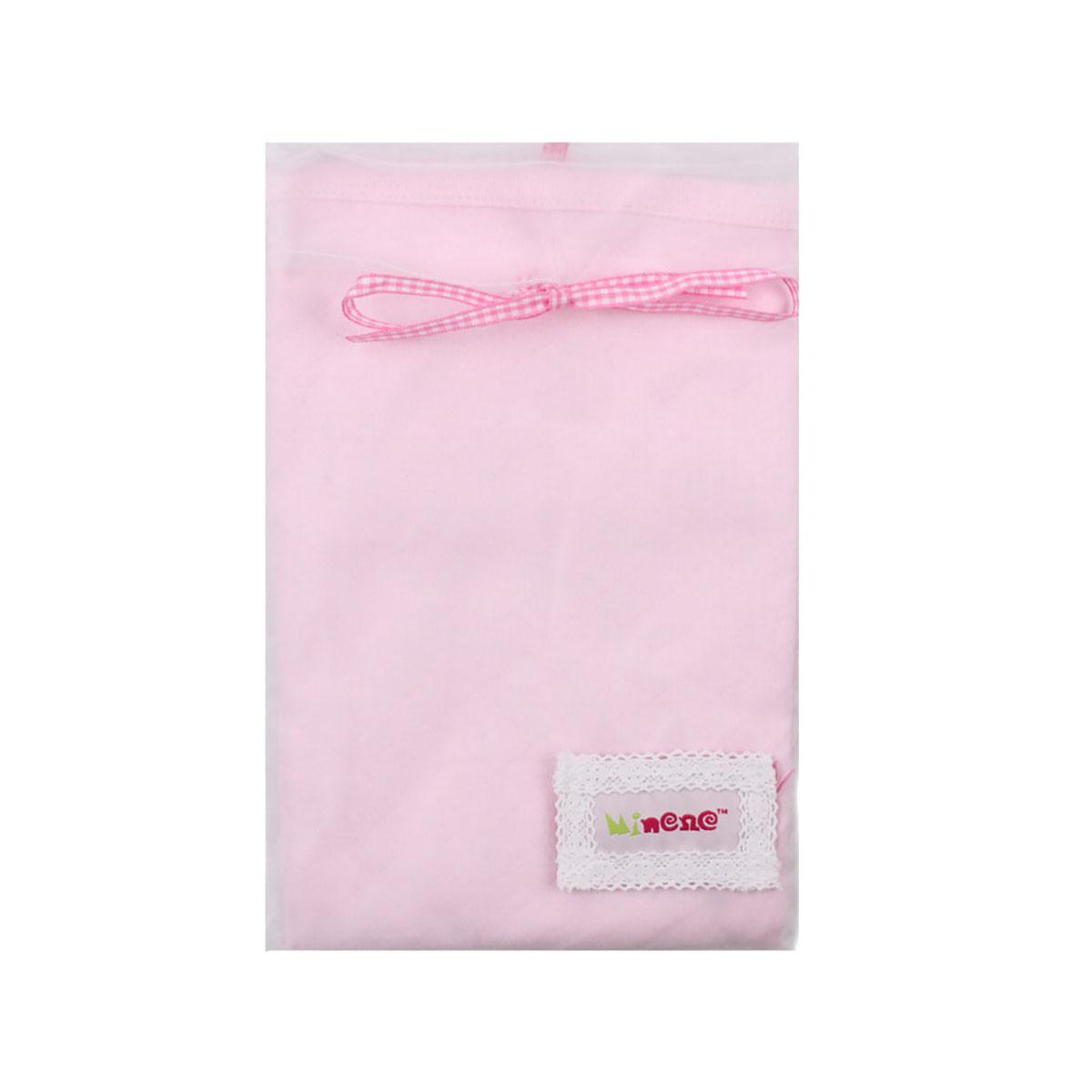 Scutec pentru nou nascuti Minene, 100 x 70 cm, Roz imagine