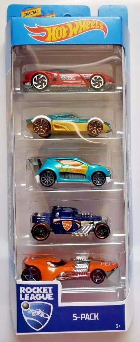 Set masinute Hot Wheels, Rocket League, FYL23 (5 modele)
