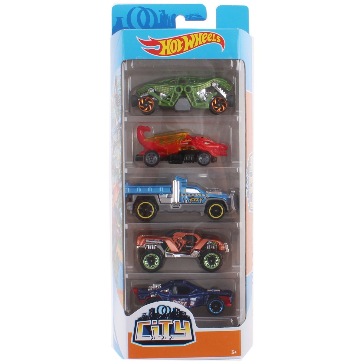 Set masinute Hot Wheels, City, FYL25 (5 modele)