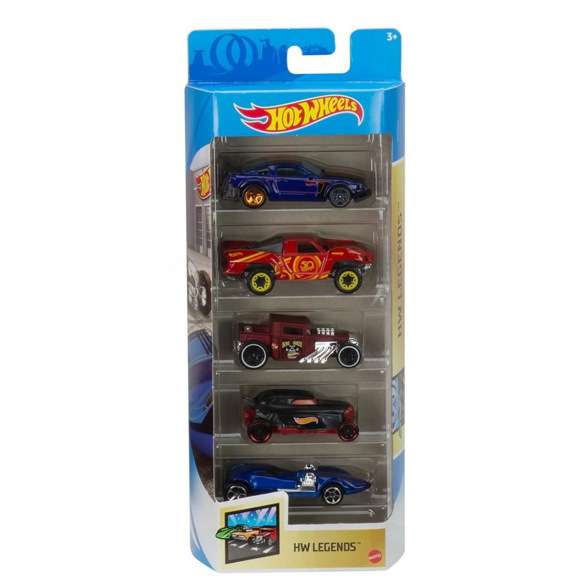 Set masinute Hot Wheels, Hw Legends, GTN38, 1:64 (5 modele)
