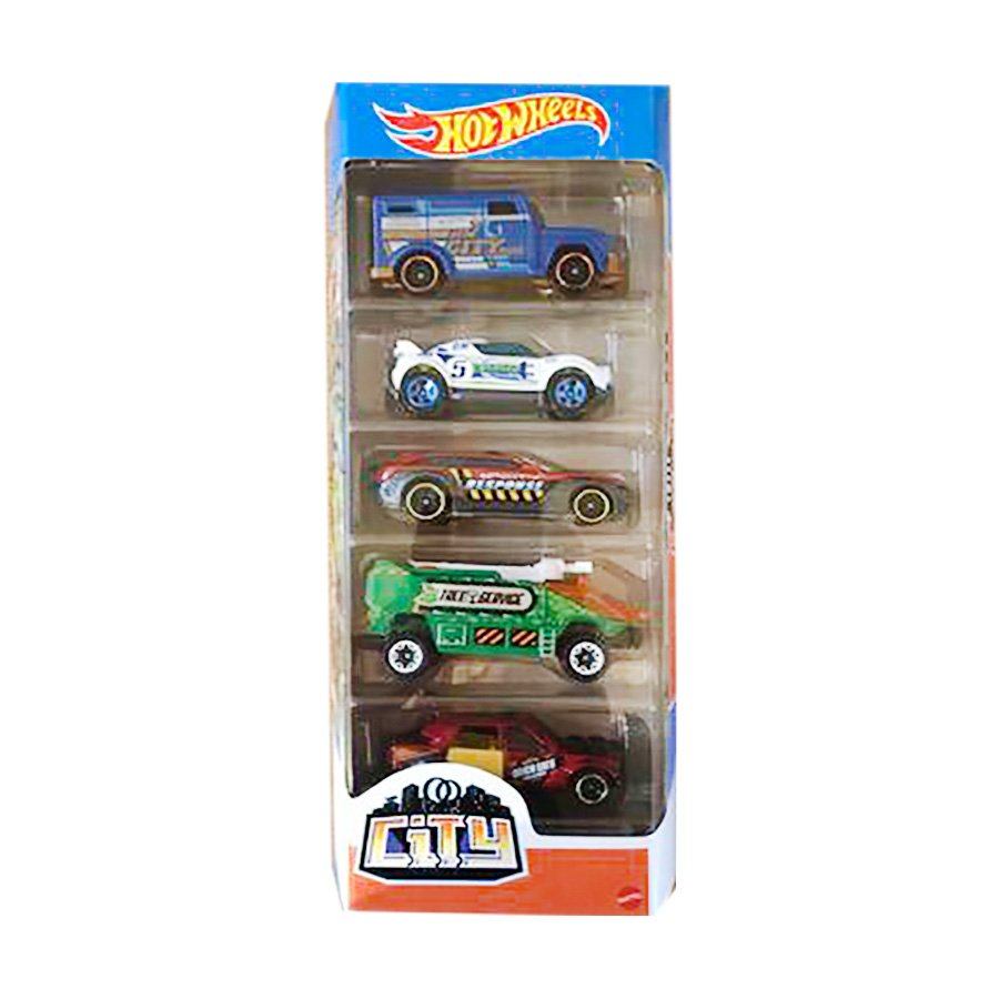Set masinute Hot Wheels, City, GTN41, 1:64 (5 modele)
