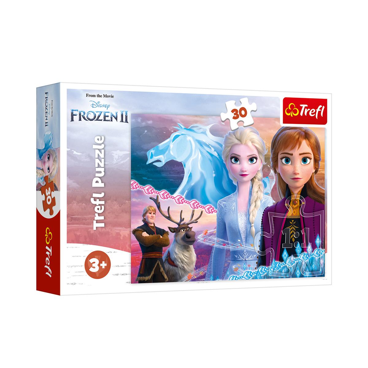 Puzzle Trefl Disney Frozen 2, 30 piese