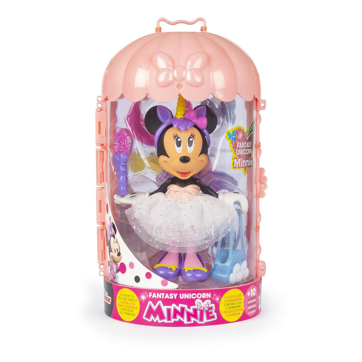 Set figurina cu accesorii Minnie Disney, Fantasy Unicorn W3