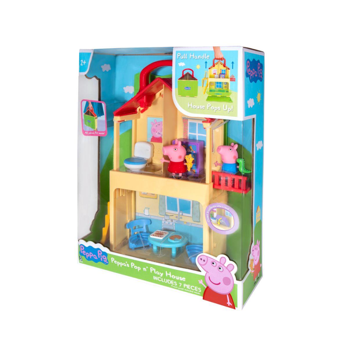 Set de joaca Peppa Play House, Peppa Pig