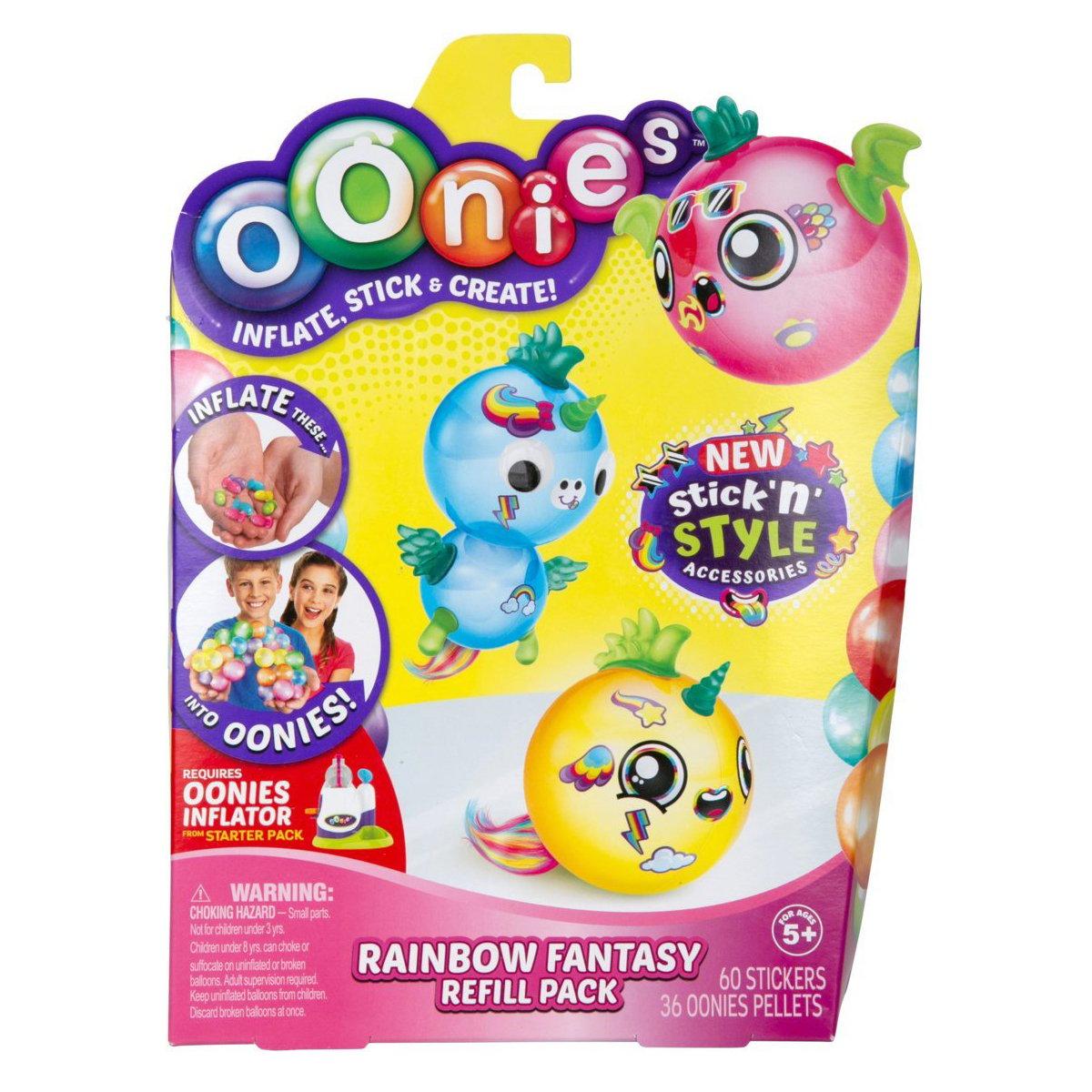 Baloane de umflat Oonies, Rainbow Fantasy, S4