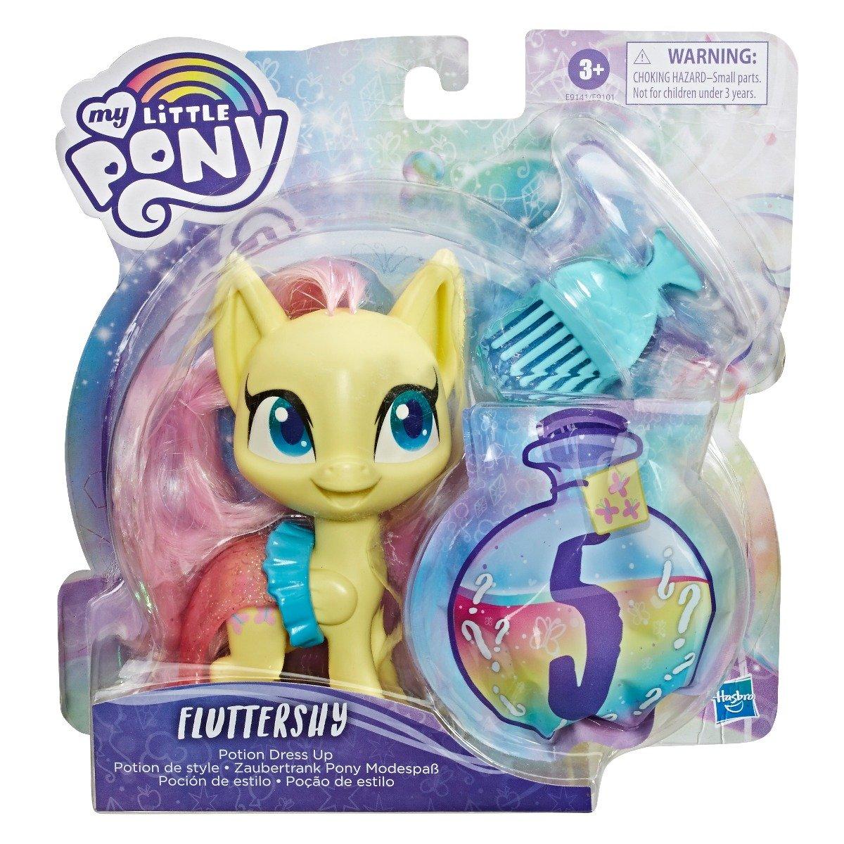 Figurina cu accesorii surpriza My Little Pony Potiunea Magica, Fluttershy E9141