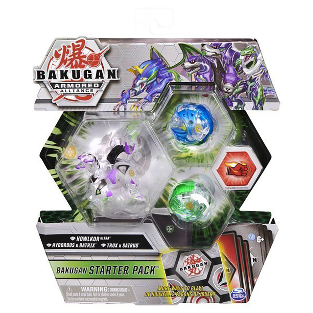 Set Bakugan Armored Alliance, Howlkor Ultra, Hydorous x Batrix, Trox x Sairus 20125411