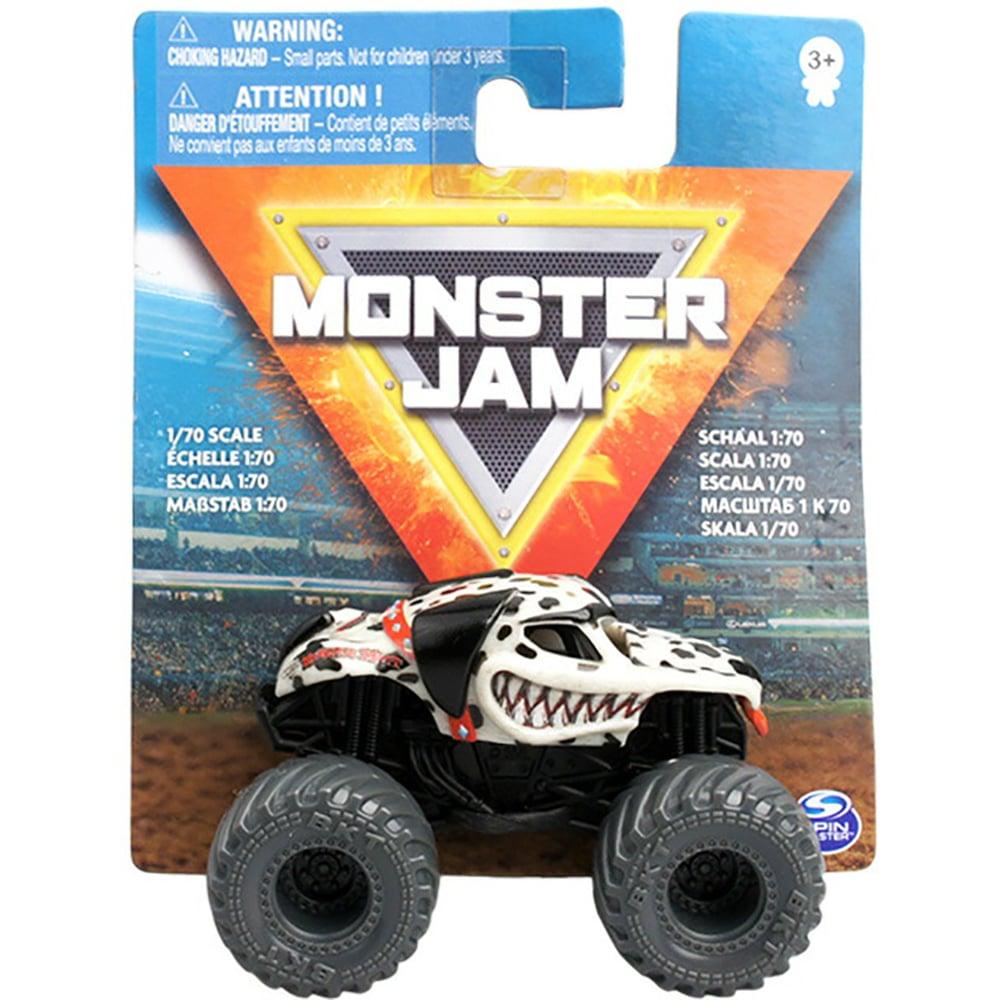 Masinuta Monster Jam 1:70, Dalmatian, 20126426
