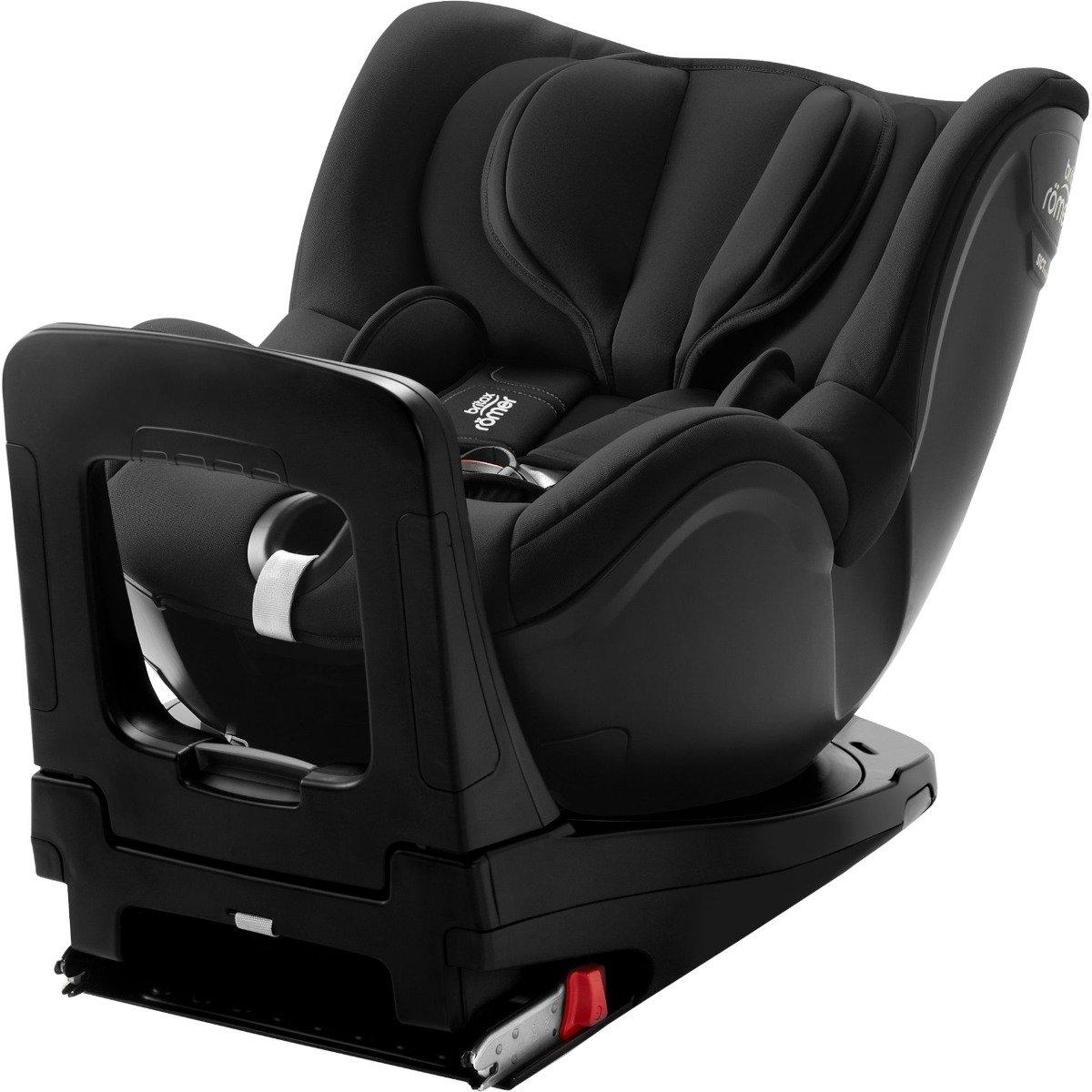 Scaun Auto Cu Isofix Britax Romer Dualfix I-size, Rotativ, 40-105 Cm, Cosmos Black