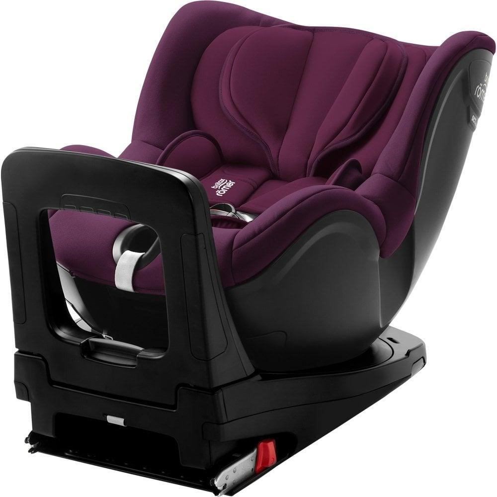 Scaun auto cu Isofix Britax Romer Dualfix i-Size, rotativ, 40-105 cm, burgundy red imagine