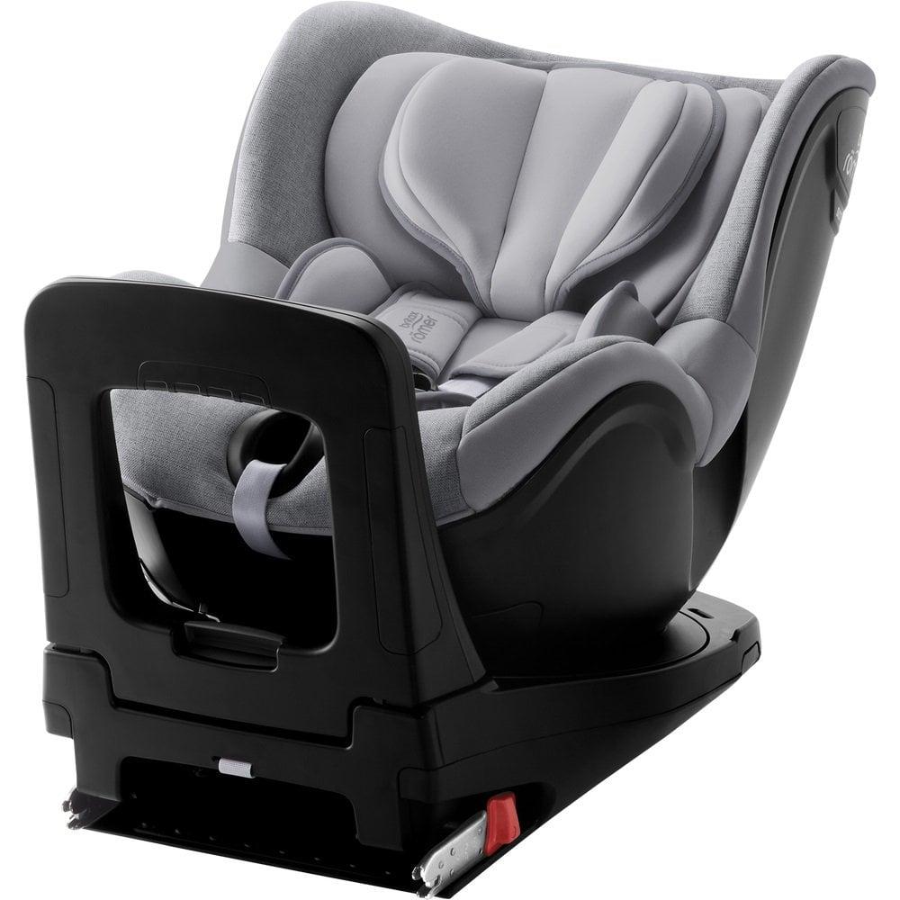 Scaun auto cu Isofix Britax Romer Dualfix i-Size, rotativ, 40-105 cm, grey marble imagine