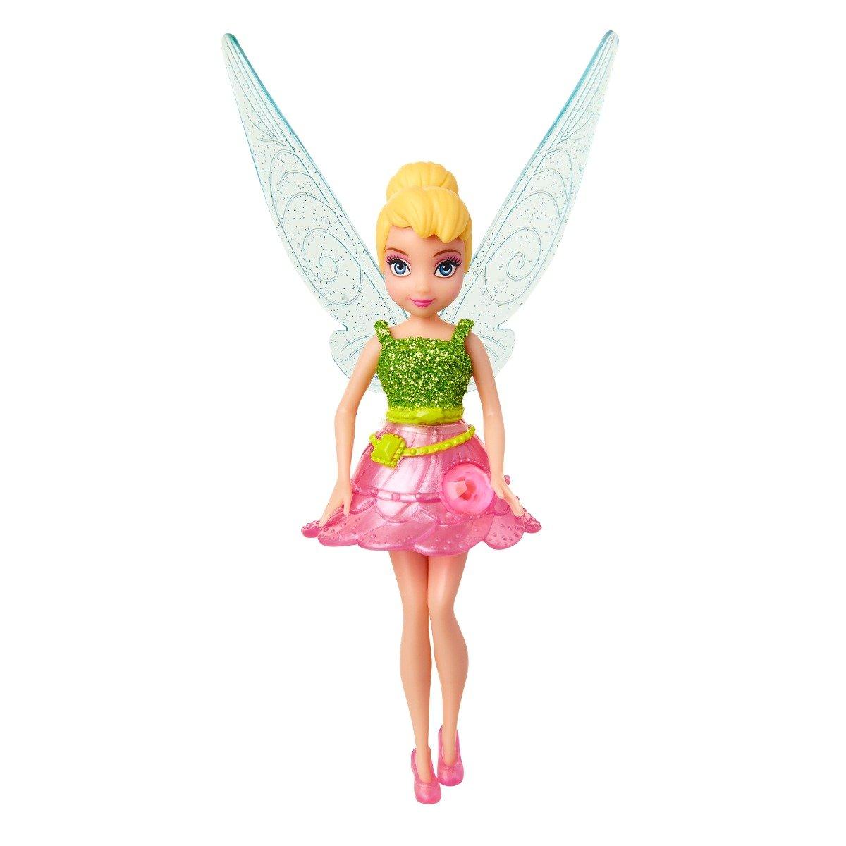 Papusa Disney Fairies, Tinker Bell, Roz, 12 cm