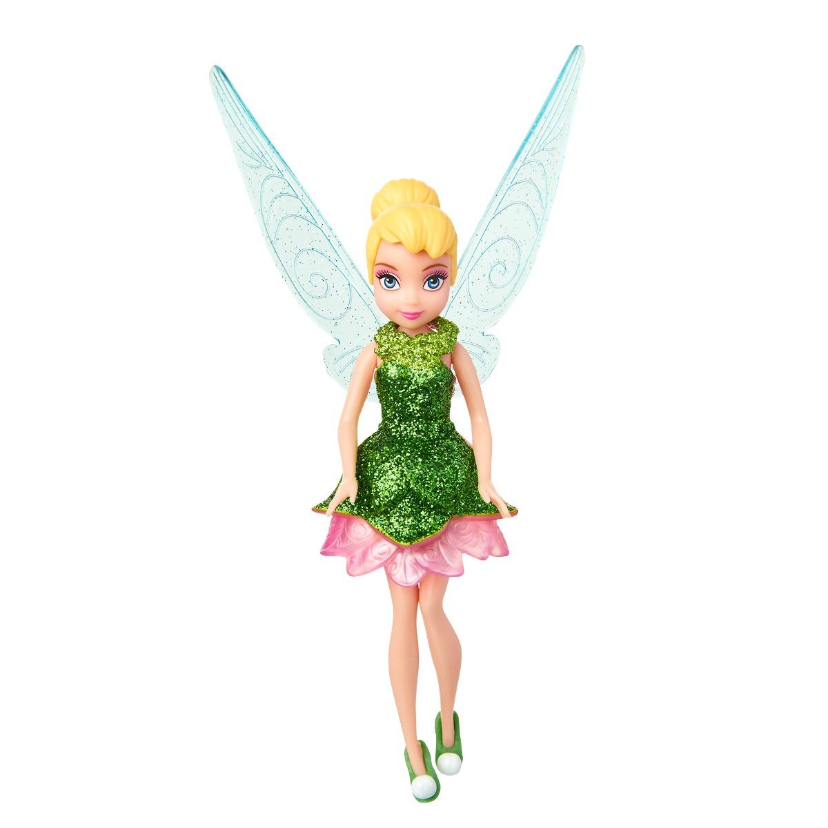 Papusa Disney Fairies, Tinker Bell, Verde, 12 cm