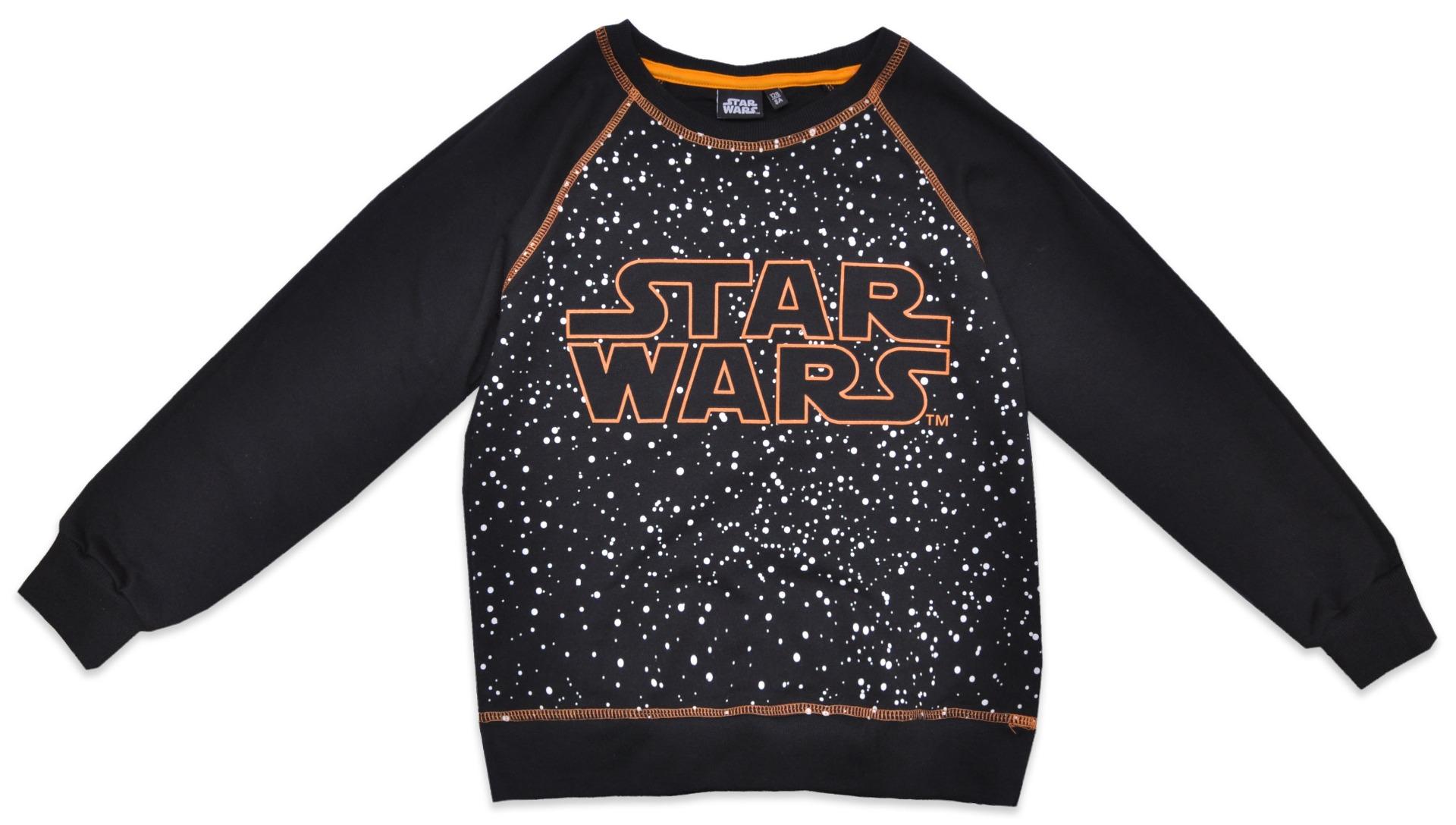 Tricou cu maneca lunga Star Wars, Negru imagine